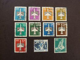 ALLEMAGNE De L'EST (RDA), Lot De 11 Timbres Oblitérés (avions) - Airplanes