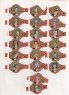 Sigarenbanden Caraibe Serie Benelux Dynastie 40 St - Bagues De Cigares