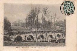 AIRVAULT : Le Pont Roman De Vernay, Du XII E Siècle 1904 - Airvault