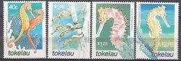 Tokelau 2001  Sea Horse  Michel 303-06  MNH 28223 - Vissen
