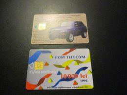 Lot De 2 Télécarte - Phonecard - Roumanie - Roumanie