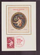"""France, Carte Maximum Du 14 Décembre 1968 à Troyes """" La Croix-Rouge Et La Poste """" - Maximum Cards"""