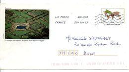 PAP POTAGER DU CHATEAU DE SAINT JEAN DE BEAUREGARD - Enteros Postales