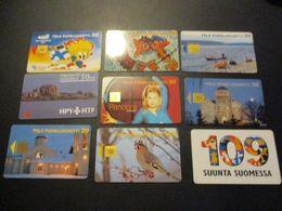 Lot De 14 Télécarte Phonecard Finlande 1997 - Finlande