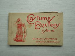 Album-souvenir Costumes Bretons 1ère Série - Bretagne