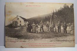Col  Frontière Entre ST-DIE Et COLMAR  - Le Poteau Frontière -au Col Du Bonhomme ( En L'état ) - Autres Communes