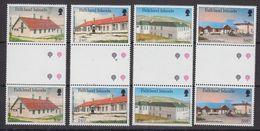 Falkland Islands 1987 Local Hospitals 4v Gutter ** Mnh (48500) - Falkland Islands