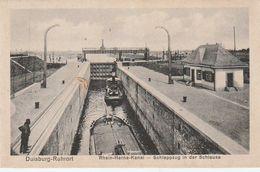 Duisburg-ruhrort - écluse Canal - Autres