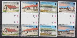 Falkland Islands 1987 Local Hospitals 4v Gutter ** Mnh (48501) - Falkland Islands