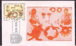 Mexico - 1974 - Carte Maxmium - Chambre Nationale De Commerce De Mexico - Cygnus - Mexique