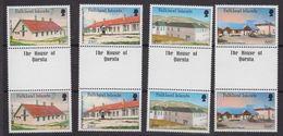 "Falkland Islands 1987 Local Hospitals 4v Gutter ""The House Of Questa"" ** Mnh (48503) - Falkland Islands"