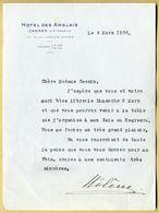 Hélène, Grande-duchesse De Russie, Princesse De Grèce Et De Danemark - Lettre Signée - Autographes