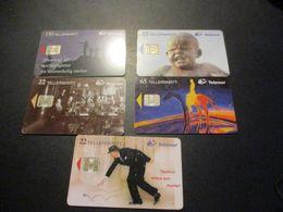 Lot De 5 Télécarte - Phonecard - Norvège - Norvège