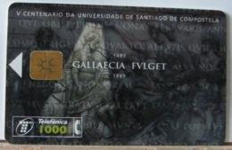 SPAGNA - 1000  PESETAS - V CENTENARIO DE UNIVERSIDADE DE SANTIAGO DE COMPOSTELA - UNIVERSITA' DI SANTIAGO DI COMPOSTELA - Espagne