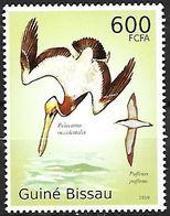 Guinea Bissau - MNH 2010 :    Brown Pelican - Pelecanus Occidentalis + Manx Shearwater -   Puffinus Puffinus - Altri