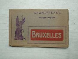 Carnet   Grand'place BRUXELLES - Belgique
