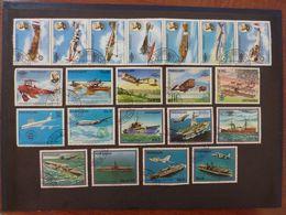 PARAGUAY, Lot De 21 Timbres Oblitérés (avions) - Airplanes