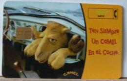 SPAGNA - 1000  PESETAS - CAMEL - TEN SIEMPRE UN COMEL EN EL COCHE - CAMMELLO - AUTO - Espagne