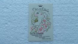 Carte Parfumée Ancienne - Anciennes (jusque 1960)