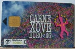 SPAGNA - 1000  PESETAS -- CARNE' XOVE EURO 26 - Espagne