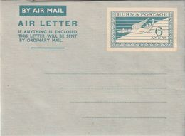 Burma / Aerogramm ** (BX04) - Myanmar (Birmanie 1948-...)