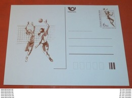 TSCHECHISCHE REPUBLIK - Volleyball Sport --- Volleyball 6 Kc Bildpostkarte ** (Foto)(60487) - Cartoline Postali