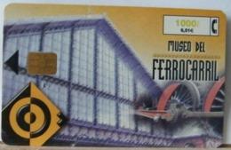 SPAGNA - 1000 PESETAS - MUSEO DEL FERROCARRIL - MUSEO DEI TRENI - Espagne