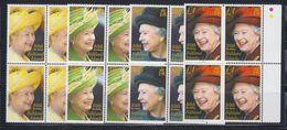 Falkland Islands 2006 80th Birthday Queen Elizaebeth II 4v Bl Of 4 ** Mnh (48509) - Falkland Islands