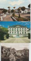 2028-717 11cp L'absie-bressuire-thouarsgorges Ligron-parthenay3-lagarette-barrage Chail+3divers  Dep 79 Retirée Le 26-07 - Francia