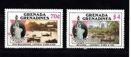 Grenada Grenadines 1986 Mi Nr 738 + 739, Postfris - Grenada (1974-...)