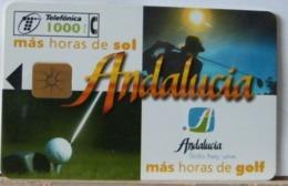 SPAGNA - 1000 PESETAS - ANDALUCIA - GOLF - Espagne