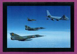 Ravitaillement En Vol D'un Mirage 2000 N Et De Deux Mirage IV P Par Un C135 FR. - 1946-....: Modern Era