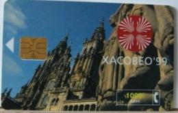SPAGNA - 1000 PESETAS - XACOBEO 99 - Espagne