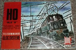 Ancien Catalogue JOUEF, Collection 1970-71, Télécommande Bloc Système, Trains Circuit Voitures Train Locomotives - Oud Speelgoed