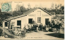 - 58 -NIEVRE - GARCHIZY - Source Garnier - Commercio