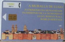 SPAGNA - 1000 PESETAS - A MURALIA DE LUGO - LA MURALIA DI LUGO - Espagne