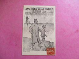 CPA 85 ILLUSTRÉE JOURNÉE DE LA VENDEE 5 MARS 1916 - Non Classificati