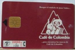 SPAGNA - 2000 PESETAS + 100  - CAFE DE COLOMBIA - CAFFE' DI COLOMBIA - Espagne