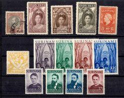 Surinam Belle Petite Collection De Bonnes Valeurs Neufs Et Oblitérés 1873/1955. B/TB. A Saisir! - Surinam ... - 1975
