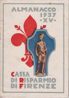 **  CASSA DI RISPARMIO DI FIRENZE.- 1937.-** - Collectors Manuals
