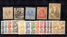 Curaçao Belle Petite Collection De Bonnes Valeurs Neufs Et Oblitérés 1873/1939. B/TB. A Saisir! - Curaçao, Antilles Neérlandaises, Aruba