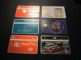 Lot De 19 Télécarte Phonecard Belgique - Belgique
