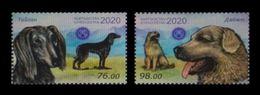 Kyrgyzstan 2020 Mih. 1001/02 Fauna. Kyrgyz Dogs MNH ** - Kyrgyzstan