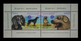 Kyrgyzstan 2020 Mih. 1001/02 (Bl.105) Fauna. Kyrgyz Dogs MNH ** - Kyrgyzstan