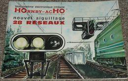 Ancien Manuel Pratique Hornby Acho Meccano Tri-ang, Plans De Réseaux Pour Modélisme Trains Train Locomotives Rail Rails - Jouets Anciens