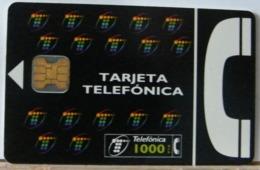 SPAGNA - 1000 PESETAS  - CHIP COME DA FOTO - TARJETA TELEFONICA - Espagne