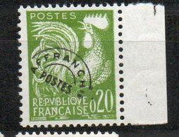 Préoblitéré 120 - Type  Coq Gaulois 0,20 Vert- Neuf ** - Precancels