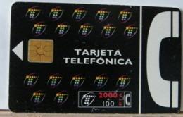 SPAGNA - 2000 + 100 PESETAS  - CHIP COME DA FOTO - TARJETA TELEFONICA - Espagne