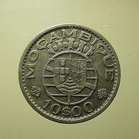 Portuguese Moçambique 10 Escudos 1954 Silver - Portugal