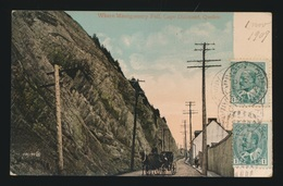 WHERE MONTGOMERY FELL , CAPE DIAMAOND  QUEBEC - Montmorency Falls